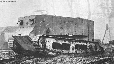WWI Tank Little Willie