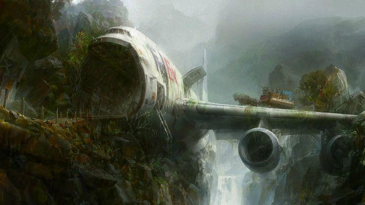 Airplane castle